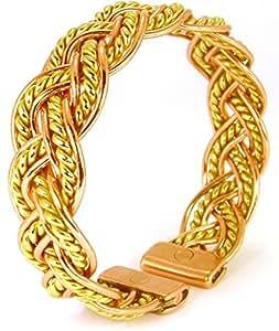 La Source: Bracelet Cuivre Magnétique avec les aimants - Homme et Femme -Moselle