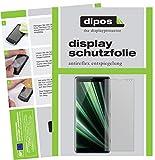 dipos I 6X Schutzfolie matt passend für Sony Xperia XZ3 Folie Displayschutzfolie