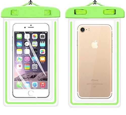 Universal Wasserdichte Schutzhülle, ibarbe Handy Dry Bag Pouch für iPhone 76S 6Plus SE 5S 5C 5, Galaxy S8S7S6Edge, Note 54, LG G6G5, HTC 10, Sony Nokia, diagonal Geräte bis 14,5cm - Htc Phone Pad