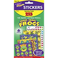 TREND ENTERPRISES INC. T-33008 FROGS FROGS FROGS VARIETY PACK MIXED STICKER VARIETY PACKS