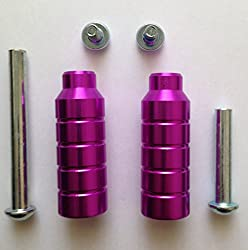 Metallic Purple Phantom Aluminium Scooter Stunt Pegs