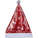 WebelKart 2 Pcs Christmas Hats, Santa Claus Caps For Kids And Adults, Free Size, XMAS Caps Santa Claus Costume   Santa Dress  Christmas Tree Decoration- Pack Of 2 Caps
