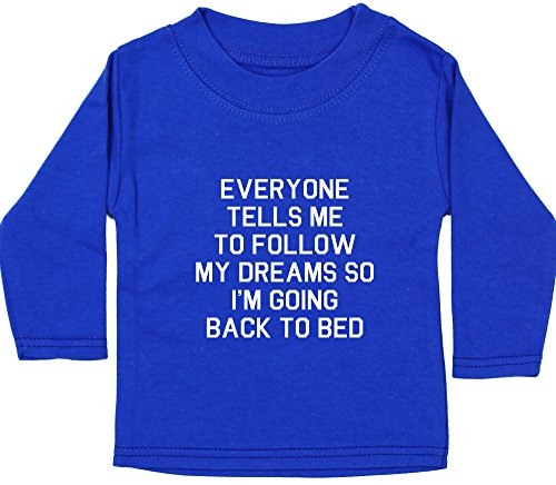 Hippowarehouse  Baby - Jungen T-Shirt, Blau, 5345-BTLS-RB-1-2yrs