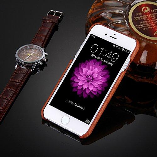 Phone case & Hülle Für iPhone 6 / 6s, Öl Haut Textur Stickerei Leopard Muster PU Paste Haut PC Schutzhülle ( SKU : IP6G0536A ) IP6G0536C