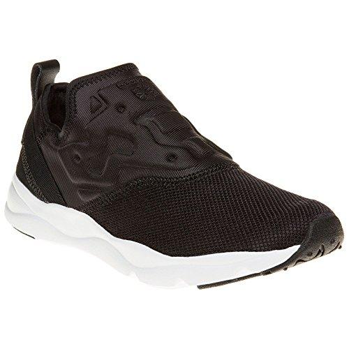 Reebok Furylite Slip Contemporary Donna Sneaker Nero Nero