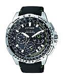 Citizen Herren Chronograph Quarz Uhr mit Kautschuk Armband CC9030-00E