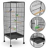 Voliera gabbia per uccelli roditori, dimensione esterna circa 146 x 54...