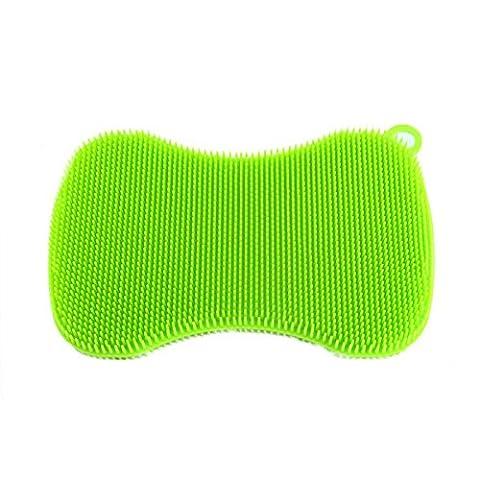 Silicone éponge swisch (Eponge) allongé vert