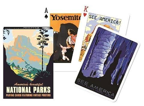 Piatnik Americas Beautiful National Parks Single Deck Austrian Playing Cards