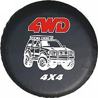 "LITTOU Universal rueda de repuesto para 4 WD 4 x 4 Spot caso protector Para Trailer, RV, SUV (15 ""para Diámetro 27 '' - 29 '')"