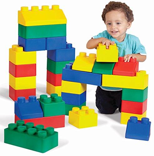 Edushape Edublocks Lightweight Flexible Building Blocks Construction Toy - 26 pcs