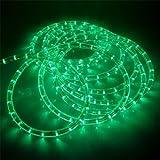 6m LED Lichtschlauch GRÜN mit Prismeneffekt Ø 13mm