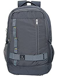 Alfisha Laptop Backpack - Fits Up To 19 -inch Laptops (Grey)