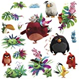 ANGRY BIRDS MOVIE wall stickers 17 decals RED Bird Island Chuck Bomb by new