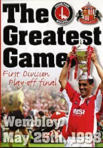 Charlton Athletic-The Greatest Game [DVD]