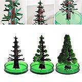Aprettysunny Magic Wachsende Weihnachtsbaum Wissenschaft Spielzeug Dekoration Pädagogisches Kinder Lustige Spielzeug