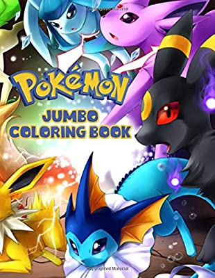 Pokemon Coloring Book: Jumbo, Premium Coloring Book for Kids de Independently published