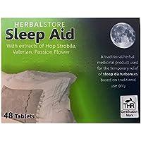 Sleep Aid Helps Sleep Insomnia Remedy 48 Tablets Sleep Disturbance Herbal Relief