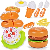 NextX Cocina y comida Estuche de juego juguete de rol para niños - 12PCS juguetes de rol para niños