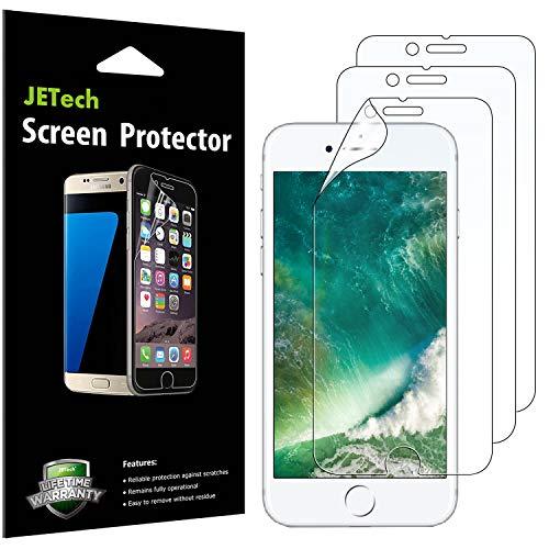 JETech Schutzfolie für iPhone 8 iPhone 7, PET Bildschirmschutzfolie, 3 Stück