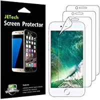 JETech Schutzfolie für iPhone 8 iPhone 7, PET Displayschutzfolie, 3 Stück