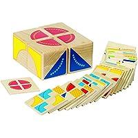 Goki - Kubus, juego de puzzle de madera, 4 cubos y 26 fichas (Gollnest & Kiesel 58649.0) - Peluches y Puzzles precios baratos