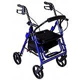 Andador Rollator 4 ruedas c/asiento Sit & Roll 2