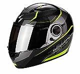 Scorpion Casco moto EXO-490 VISION Nero-Neon Giallo L