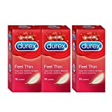 Durex Condoms - 10 Count (Feel Thin, Buy 2 Get 1 Free)