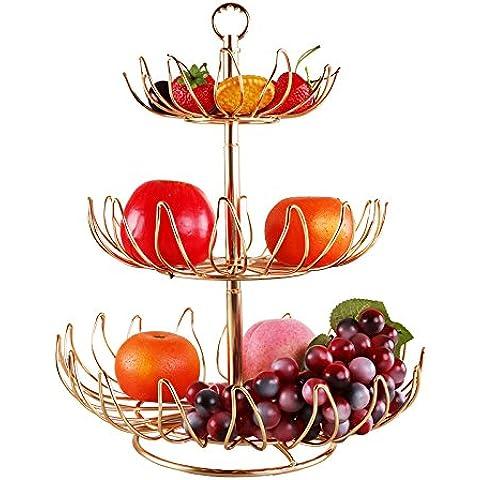YUENLONG Creative cesto di frutta multi tier Lek Yuen frutta