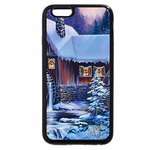 iPhone 6S / iPhone 6 Case (Black) Winter twilight