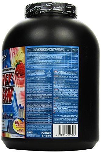 Ironmaxx 100% Whey Protein Erdbeere-Weiße Schokolade