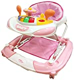 Bebe Style Lauflernhilfe & 2in1 Baby Gehhilfe + Babyschaukel im Rennwagen Look - Laufwagen & Walker zum Laufen lernen