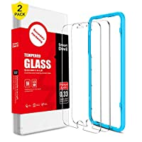 SMARTDEVIL 2 Pack Screen Protector Foils for iPhone 6 /6s /7/8 /SE 2020 Protective Tempered Glass for 4.7 Inch Screen with Installation Tool, 9H Support Shockproof, Anti-Scratch,High Definition