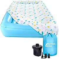 Active Era Kids Air Bed with 100% Cotton Mattress Cover, Electric Pump and Carry Bag