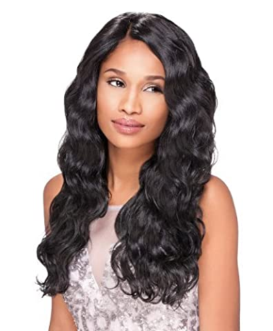 Sensationnel Empress Custom Lace Front Edge Wig - Body Wave (1B - Off Black) by Hair Zone