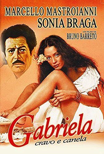 Cravo Gabriela & Canela (Bruno Barreto) (1983) - Marcello Mastroianni/Sonia Braga by Marcello Mastroianni