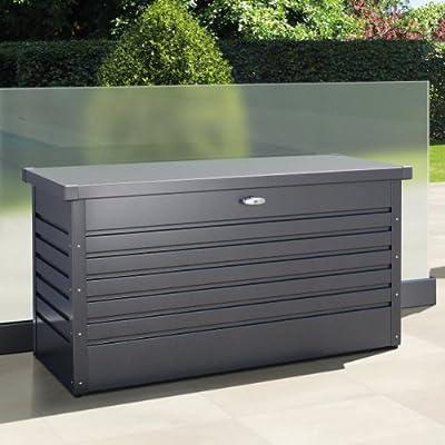 Biohort FreizeitBox - 130 dunkelgrau-metallic, 134 x 62 x 71 cm
