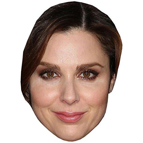 Celebrity Cutouts Cara Buono Maske aus Karton