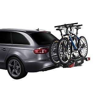 Thule Easyfold Fahrradträger für 2 Fahrräder, 7-poliger Elektro-Anschluss