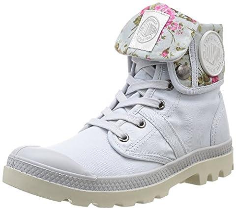Palladium Baggy Twl F, Sneakers Hautes femme, Bleu (549 Lunar/Flower), 38 EU