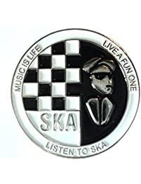 Trojan Helm Skinhead Reggae Mods Scooter Scooter Rider Laurel Emaille Abzeichen