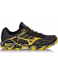 Mizuno Men\u0027s Wave Hayate Running Shoes, Turbulence/Black/Turkishsea