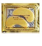 Palestren Collagen Eye Masken–10x Paar Kristall Gold Anti-Falten Anti-Aging unter Eye Gel Patch Puder Maske Facial Moisturizer