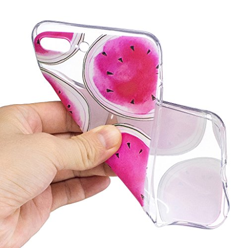 """Hülle für Apple iPhone 7 Plus , IJIA Transparente Einhorn TPU Weich Silikon Stoßkasten Cover Handyhülle Schutzhülle Handytasche Schale Case Tasche für Apple iPhone 7 Plus (5.5"""") (LF8) LF4"""