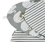 HOBEA-Germany, federa per cuscino da allattamento, 190cm, in diversi colori e design di Hobea Germany