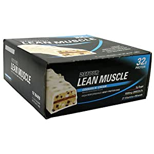 Forward Foods - Detour Lean Muscle Protéine Whey Barres Chip - 12 Barres Cookies