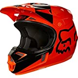 19544-009-S - Fox Racing Youth V1 Mastar Motocross Helmet S Orange