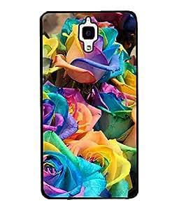 PrintVisa Designer Back Case Cover for Xiaomi Redmi Mi 4 :: Redmi Mi 4 (Ornamental Watercolor Botanical Painting Valentine Colorful Beautiful Elegance)
