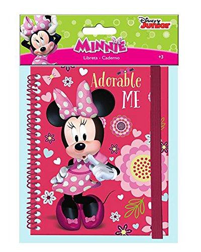 Disney Minnie Libreta A5 con Elastico Lateral